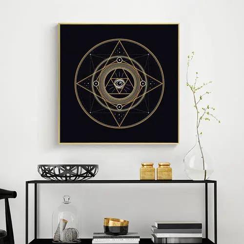 如何给客厅选择一副好看又旺运的挂画