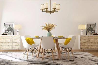 餐桌摆放有哪些讲究?你家的餐桌摆对了吗?